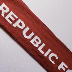 Sacramento republic scarf